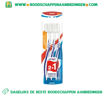 Aquafresh Tandenborstel flex medium aanbieding