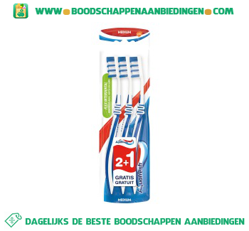 Aquafresh Tandenborstel interdental medium aanbieding