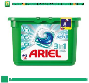 Ariel 3in1 PODS febreze wascapsules 16 wasbeurten aanbieding
