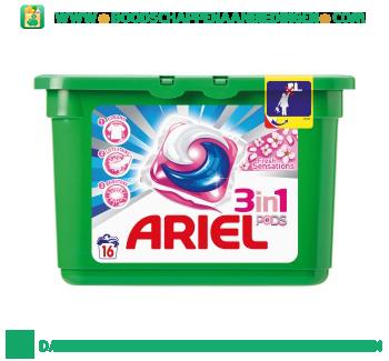 Ariel 3in1 PODS fresh sensation wascapsules 16 wasbeurten aanbieding