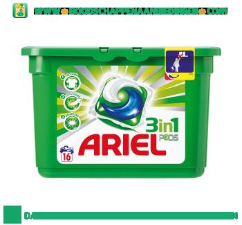 Ariel 3in1 PODS regular wascapsules 16 wasbeurten aanbieding
