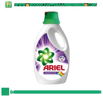 Ariel Color vloeibaar wasmiddel 34 wasbeurten aanbieding