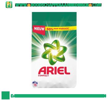 Ariel Compact regular waspoeder 15 wasbeurten aanbieding