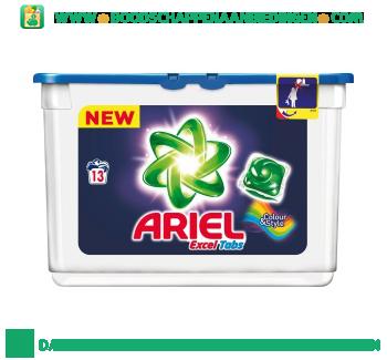 Ariel Excel tabs color wascapsules 13 wasbeurten aanbieding
