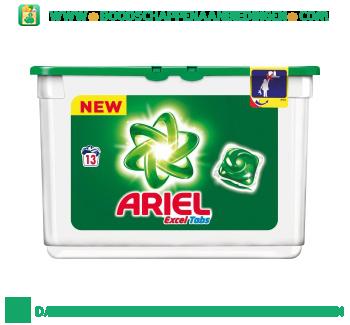 Ariel Excel tabs regular wascapsules 13 wasbeurten aanbieding