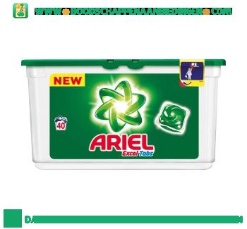 Ariel Excel tabs regular wascapsules 40 wasbeurten aanbieding