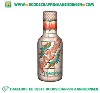 Arizona Iced tea peach aanbieding