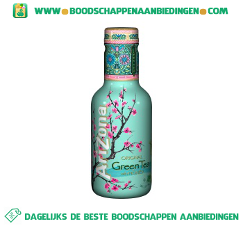 Arizona Original green tea aanbieding