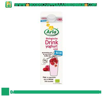 Arla Biologische drinkyoghurt mild granaatappel-rood fruit aanbieding