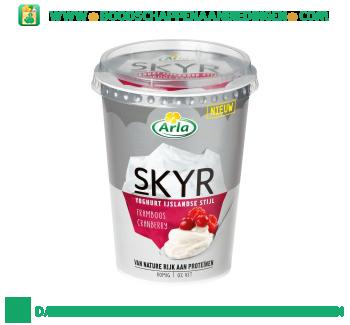 Arla Skyr framboos cranberry aanbieding