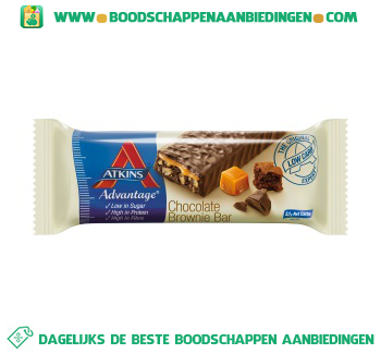 Atkins Chocolate brownie aanbieding
