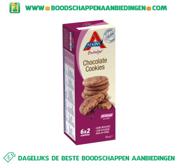Atkins Chocolate cookies aanbieding