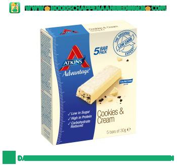 Atkins Cookies & cream aanbieding