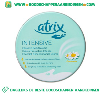 Atrix Intensief berschermende crème aanbieding