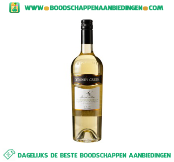 Stoney Creek chardonnay aanbieding
