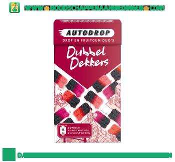 Autodrop Dubbeldekkers aanbieding