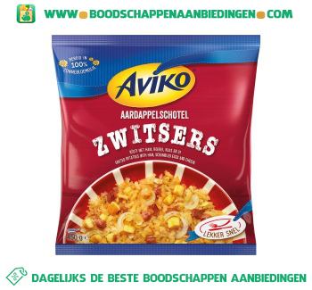Aviko Aardappelschotel Zwitsers aanbieding