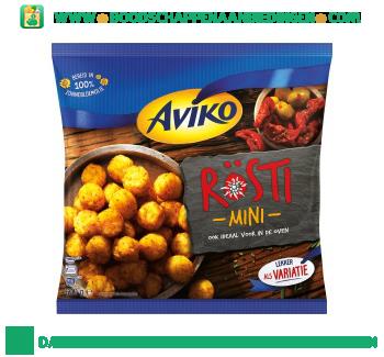 Aviko Rösti mini's aanbieding