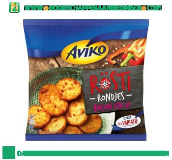 Aviko Röstirondjes bacon & ui aanbieding