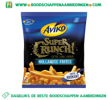 Aviko Supercrunch hollandse frites aanbieding