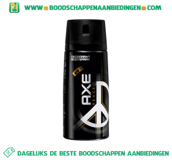 Axe Deodorant spray peace aanbieding