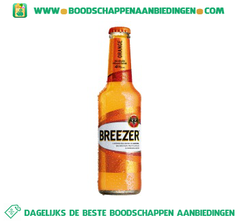 Bacardi Breezer orange aanbieding