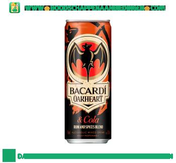 Bacardi Oakheart & cola aanbieding