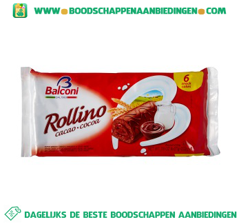Balconi Rollino cacao aanbieding