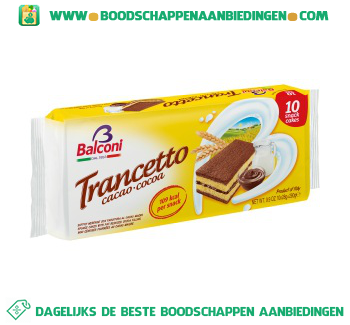Balconi Trancetto cacao aanbieding