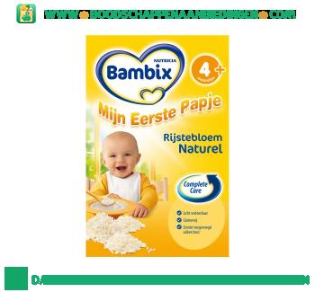 Bambix Mijn eerste papje rijstebloem naturel aanbieding