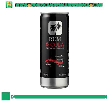 Baracoa Rum & cola aanbieding