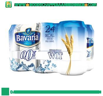 Bavaria 0.0% wit pak 6 blikjes aanbieding