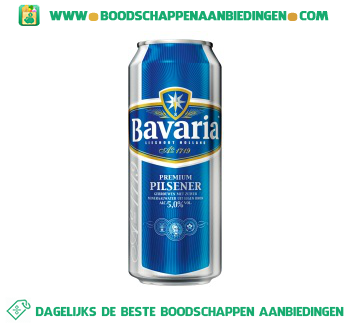 Bavaria Blik aanbieding