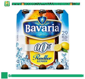 Bavaria Radler 0.0% lemon pak 6 flesjes aanbieding