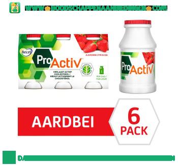 Becel Mini Yoghurt Drinks Pro.activ Aardbei aanbieding