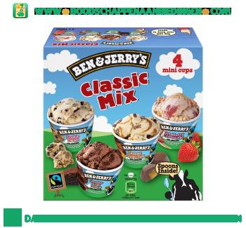 Ben & Jerry's IJs classic mix aanbieding