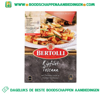Maaltijdpakket kipfilet toscana aanbieding