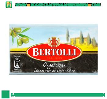 Bertolli Ongezouten margarine aanbieding