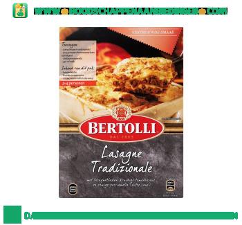 Bertolli Ovengerecht lasagne tradizionale aanbieding