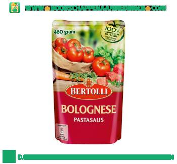 Bertolli Pastasaus in zak bolognese aanbieding