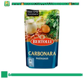 Bertolli Pastasaus in zak carbonara aanbieding