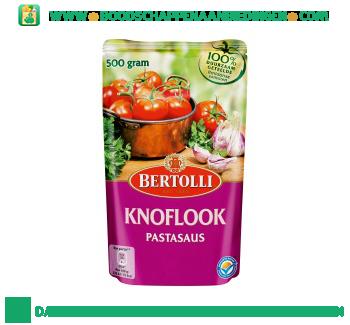 Bertolli Pastasaus in zak knoflook aanbieding