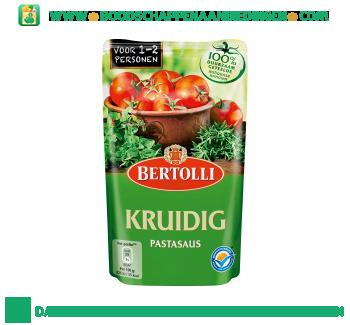 Bertolli Pastasaus in zak kruidig aanbieding
