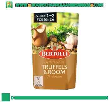 Bertolli Pastasaus in zak truffels & room aanbieding
