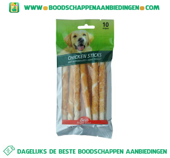 Best Chicken sticks aanbieding