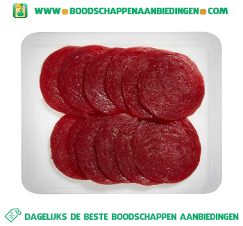 Biefstukworst aanbieding