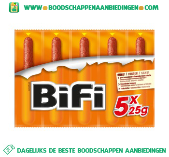Bifi 5-pak aanbieding