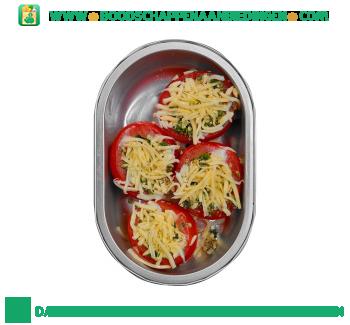 Bijzonder Lekker Gevulde tomaat met kaas en pesto aanbieding