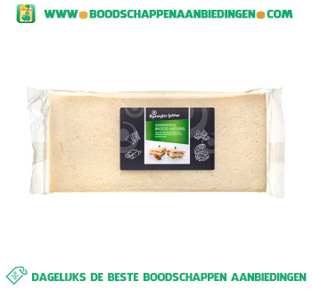 Sandwichbrood naturel aanbieding