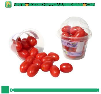 Biologische smaak tomaatjes aanbieding